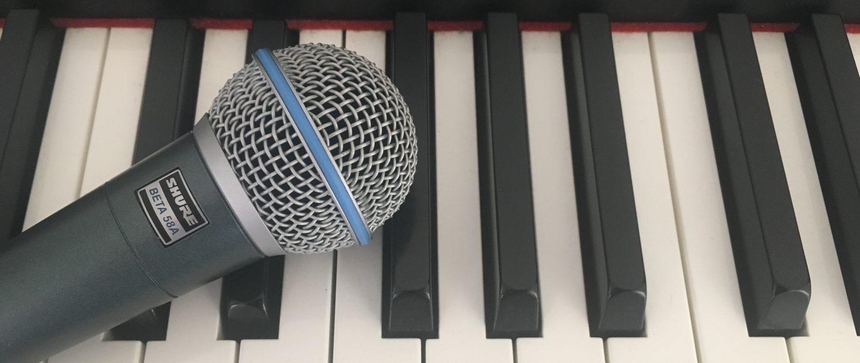 Live zang tijdens feest of evenement